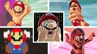 Super Mario Odyssey: All Mario's Death Animations