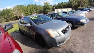 Have You Seen this 2008 Nissan Sentra Yet? ( ONLY $3250 ) LOW MILES   For Sale Review