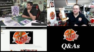 florymodels Live Stream. Tuesday's Q\u0026A with Phil and Steve @ 2PM BST