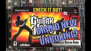Guitar Hero World Tour Boxed Set Unboxing! (PS2)