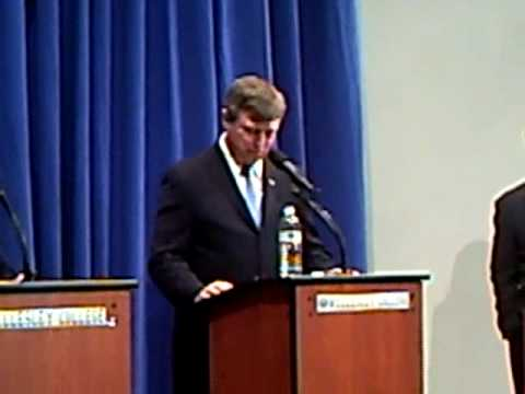 Earl Sholley-Barney Frank- Susan Allen Debate - Part Two