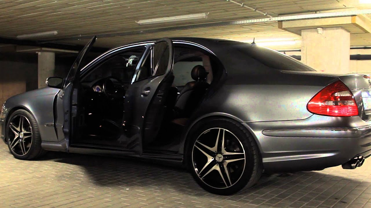 Mercedes E500/w211 AMG Package, 4-Matic, 306PS - YouTube