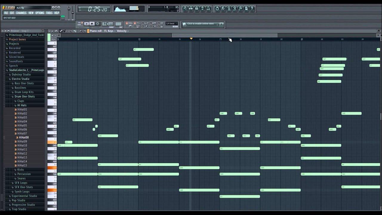 Au5 - Blossom [FL Studio 11 Piano Remake] - YouTube