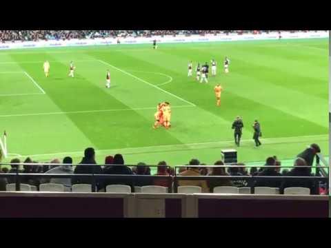 Liverpool v. West Ham United   4.11.17    Mohamed Salah goal