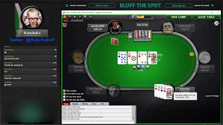 Runchuks plays ZOOM PLO $100