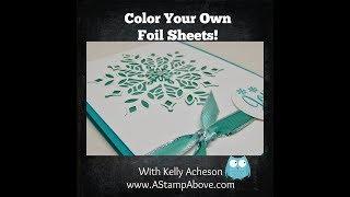 Color Silver Foil!