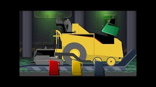 Kids TV Channel | Concrete Mixer | Car Service and Garage | Construction Videos for Children
