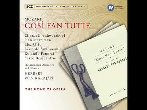 Wolfgang Amadeus Mozart. Cosi Fan Tutte (Herbert Von Karajan).