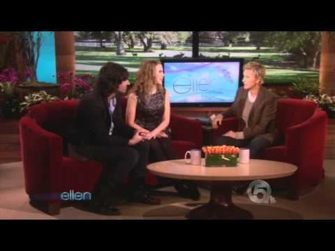 HD Scarlett Johansson   Pete Yorn Interview On Ellen Show 10 12 2009