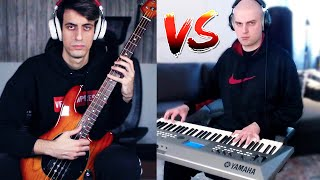bass guy VS bald guy