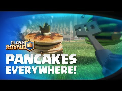Clash Royale: Mini P.E.K.K.A - Pancakes Everywhere! 🥞 🥞 🥞 New Emotes!