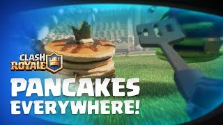 Clash Royale: Mini P.E.K.K.A - Pancakes Everywhere! ???? ???? ???? New Emotes!