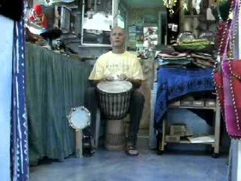 Play Djembe Reggae! with Buddy Helm
