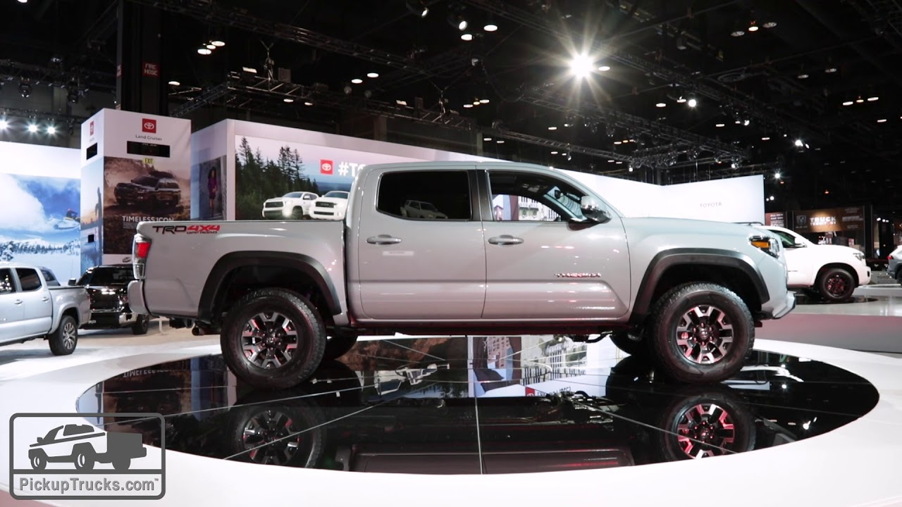 2020 Toyota Tacoma First Look Pickuptrucks
