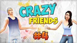 The Sims 4 Безумные друзья #4 Бутерброд в постели ☻