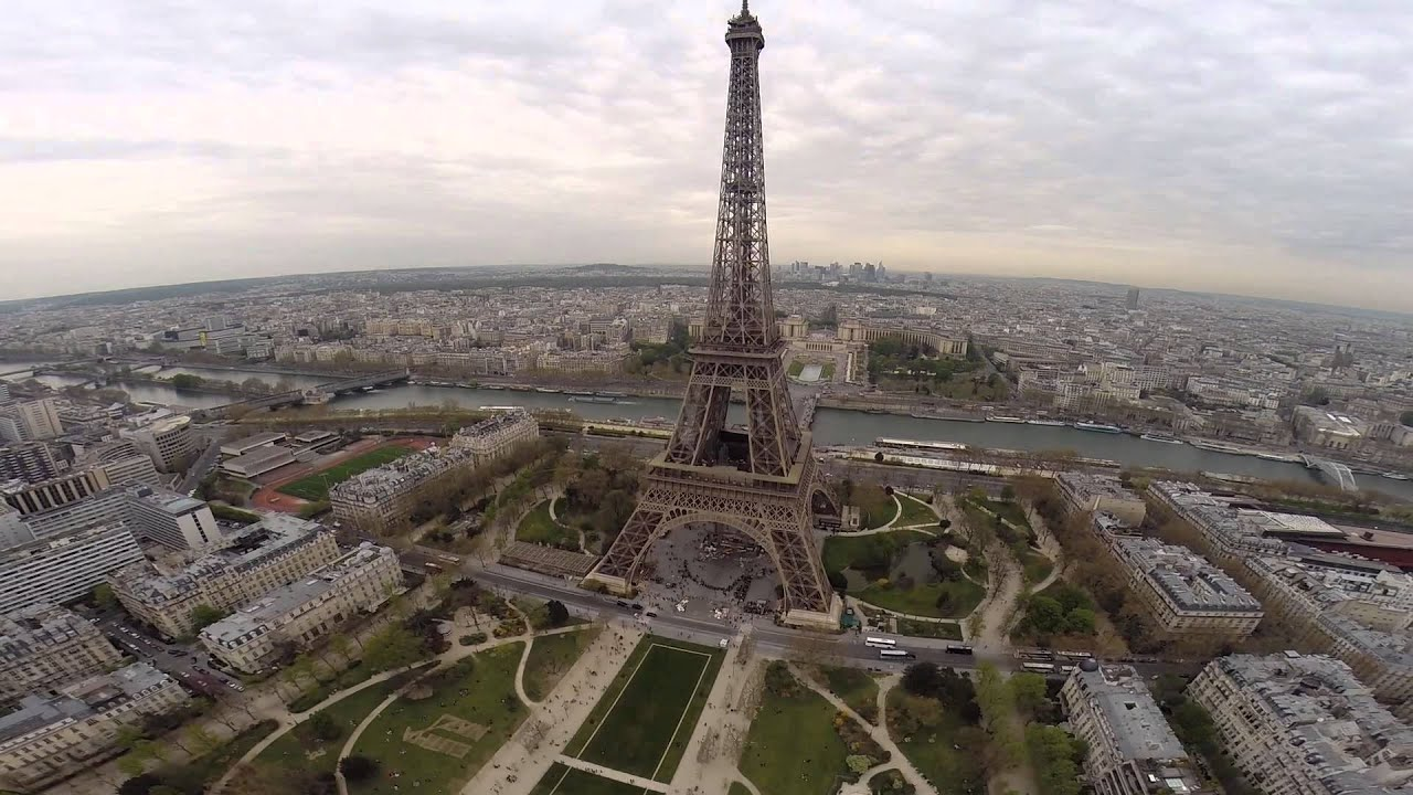 The Eiffel Tower Drone Youtube