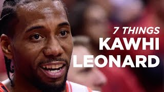 7 Facts About Kawhi Leonard