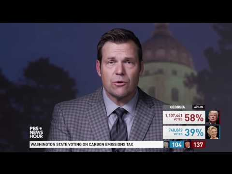Kansas Secretary of State Kris Kobach says he's 'cautiously optimistic' about Trump's chances