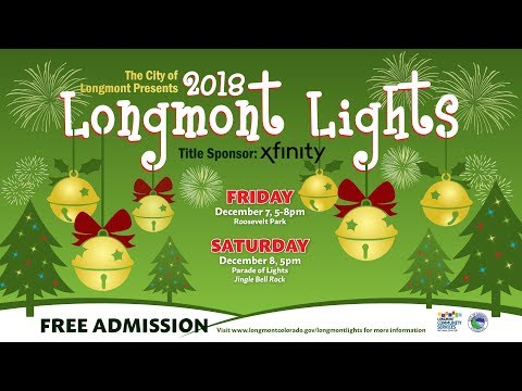 Longmont Lights 2018 | City of Longmont