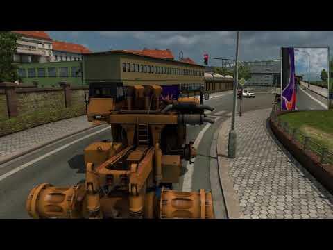 Euro Truck Simulator 2 special cargo transporting