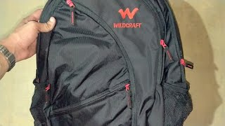 Wildcraft Turnaround Polyester 35 Ltrs Black Laptop Bag(amazon.com)