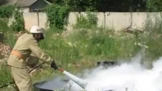 видео Огнетушитель углекислотный ОУ-40 ВСЕ Ярпож.