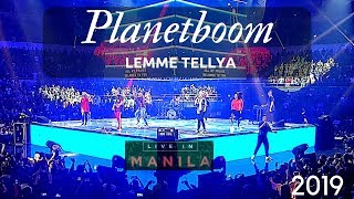 Download Mp3 Planetboom New Song | Lemme Tellya  | Live In Manila 2019