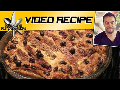 Let's Make Bread & Butter Pudding! | FunnyCat.TV