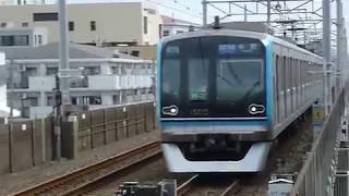 [警笛あり]東京メトロ東西線 15000系第15編成 行徳駅到着