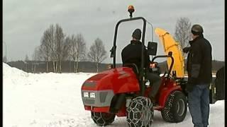 OPTIMAL Kommunaltechnik Winterdienstgeräte aus Schweden - Schneefräse
