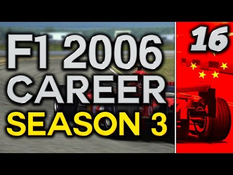 F1 2006 Career Mode S3 Part 16: TEAM MATES COLLIDE
