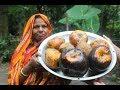 Village Food | Koler patay taler pitha | Grandmother recipes-127