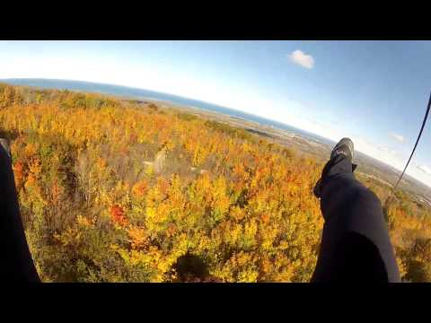 Thunderbird Twin Zip Line Review - Scenic Caves Nature Adventure