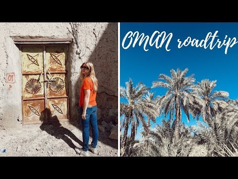 WHAT AN OMAN ROAD-TRIP IS REALLY LIKE | travel vlog
