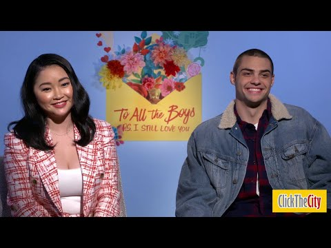 Lana Condor & Noah Centineo Do Impressions Of Each Other | ClickTheCity