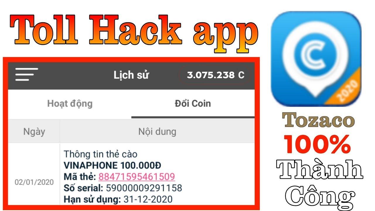 Hack Thẻ Cào Viettel mobi vina,  HacK Xu App Bigcoin, Tozaco Ad Đã Cho Phép….. kiếm Tiền Triệt Để