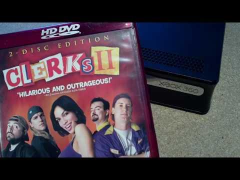Black Xbox 360 HD DVD Player - Mini Review (modded)