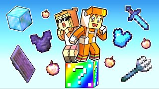 minecraft one LUCKY BLOCK challenge (chaos)