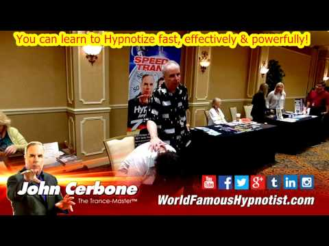 "2017 HT LIVE – Learn John Cerbone's ""Speed Trance Hypnosis"" – Las Vegas – Promo 7"