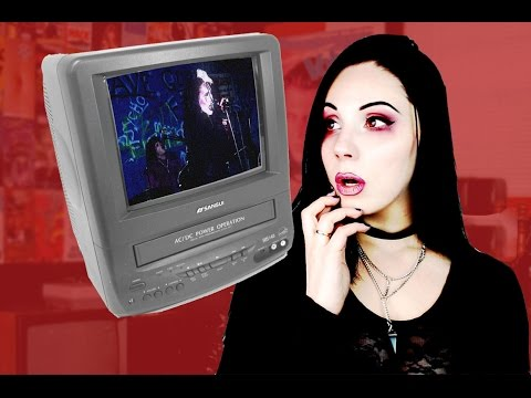 Being a Goth Teen In The 90s | Hidden Goth Music Videos on VHS