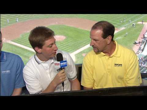 Ben Heisler WGN Sports Cubs Pre-Game Demo