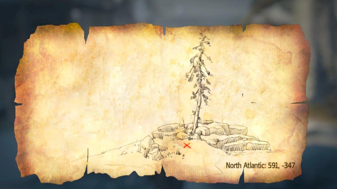 Map 347.Assassin S Creed Rogue Templar Maps Location 591 347