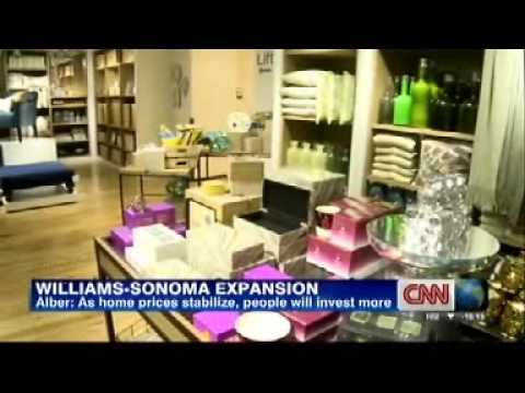 Williams Sonoma Inc CEO, Laura Alber, on CNN