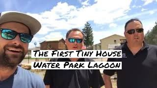 Download lagu Live at the first tiny house water park lagoon MP3
