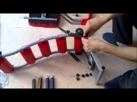 Hướng dẫn lắp đặt máy tập cơ bụng AB Rocket Twister