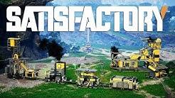 GETTING STARTED IN SATISFACTORY! Satisfactory Gameplay Episode 1