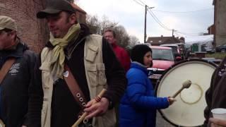 Carnaval Merbes 2013 Passage des basses Ecole de tambour Pol Canart
