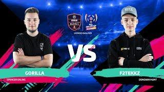 Gorilla vs F2Tekkz PGL FIFA 19 CUP Официальная русскоязычная трансляция