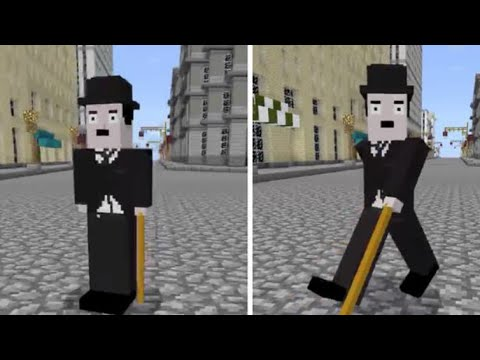 Image result for minecraft charlie chaplin