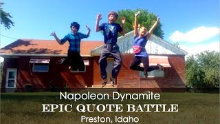 Napoleon Dynamite Quote-Off in Preston, Idaho